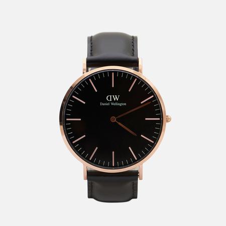 Мужские наручные часы Daniel Wellington Classic Black Sheffield Rose Gold
