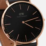 Мужские наручные часы Daniel Wellington Classic Black Sheffield Rose Gold фото- 2
