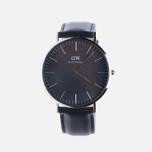 Мужские наручные часы Daniel Wellington Classic Black Sheffield Silver фото- 0