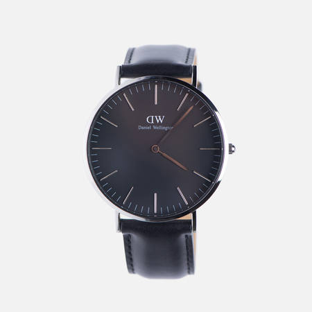 Мужские наручные часы Daniel Wellington Classic Black Sheffield Silver