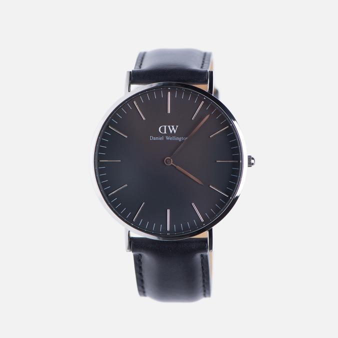 Мужские наручные часы Daniel Wellington Classic Black Sheffield Silver