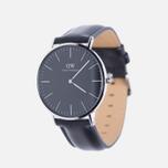 Мужские наручные часы Daniel Wellington Classic Black Sheffield Silver фото- 1