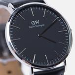 Мужские наручные часы Daniel Wellington Classic Black Sheffield Silver фото- 3