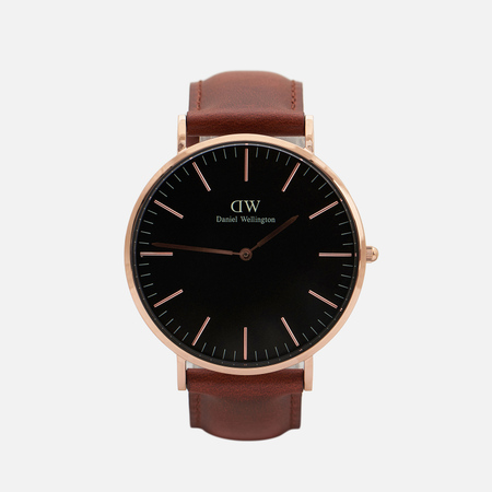 Мужские наручные часы Daniel Wellington Classic Black St Mawes Rose Gold