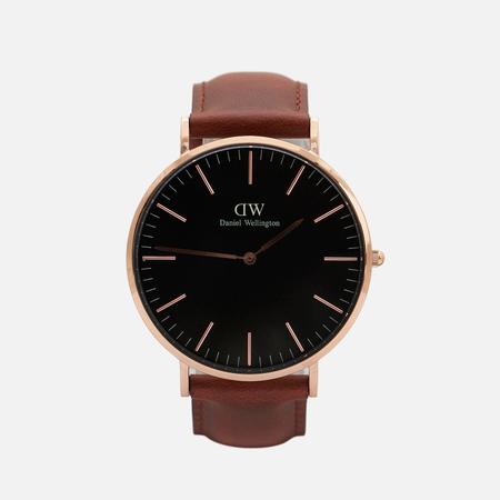 Мужские наручные часы Daniel Wellington Classic Black St Mawes Rose Gold