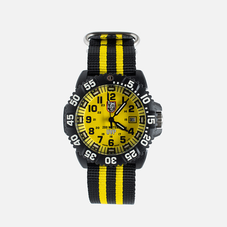 Luminox Evo Scott Cassell XS.3955.SET Men's Watch Black/Yellow