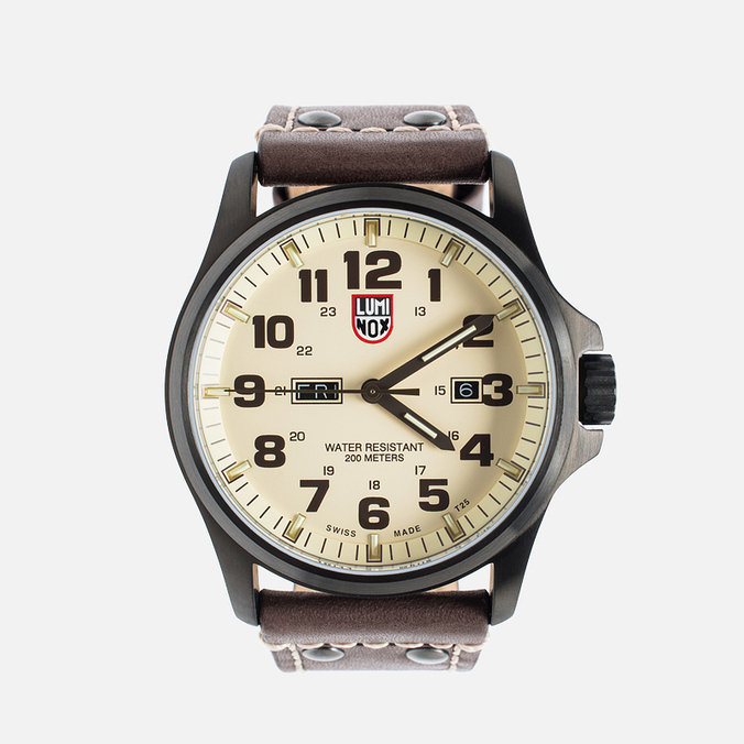 Luminox Field XL.1927 Men's Watch Brown/Beige