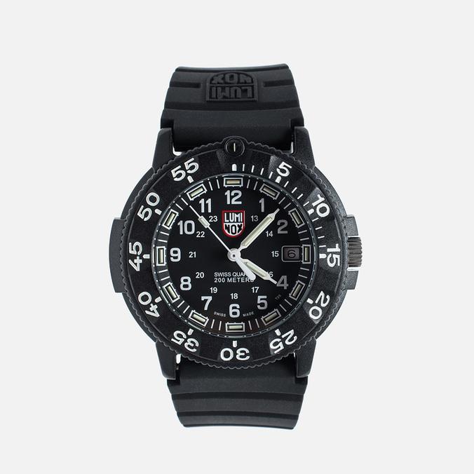 Мужские наручные часы Luminox US Navy XS.3001 Black/Silver