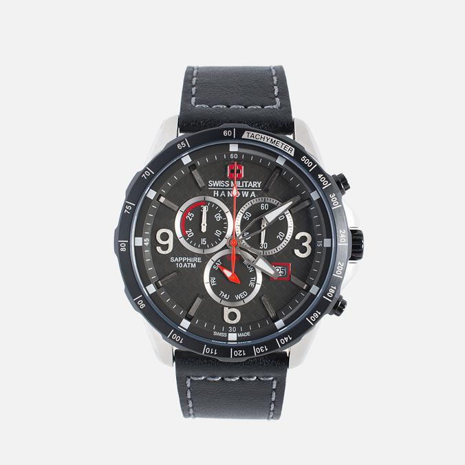 Мужские наручные часы Swiss Military Hanowa Ace Chrono Black