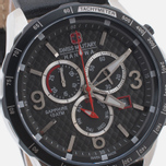 Мужские наручные часы Swiss Military Hanowa Ace Chrono Black фото- 2