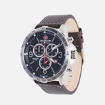 Мужские наручные часы Swiss Military Hanowa Ace Chrono Black/Silver фото- 1