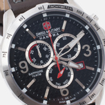Мужские наручные часы Swiss Military Hanowa Ace Chrono Black/Silver фото- 2