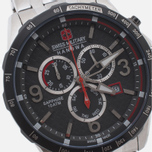 Swiss Military Hanowa Ace Chrono Men's Watch Silver/Black photo- 2