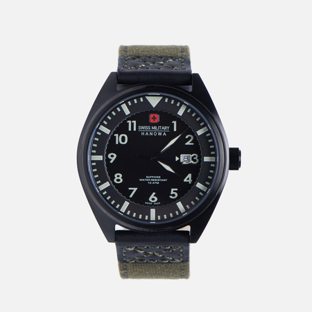 Мужские наручные часы Swiss Military Hanowa Airborne Black/Green