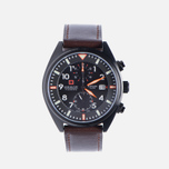 Мужские наручные часы Swiss Military Hanowa Airborne Chrono Black/Brown фото- 0