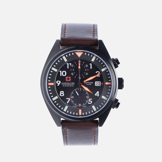 Наручные часы Swiss Military Hanowa Airborne Chrono Black/Brown