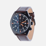 Мужские наручные часы Swiss Military Hanowa Airborne Chrono Black/Brown фото- 1