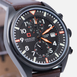 Мужские наручные часы Swiss Military Hanowa Airborne Chrono Black/Brown фото- 2