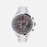 Мужские наручные часы Swiss Military Hanowa Avio Line Arrow Chrono Silver фото- 0