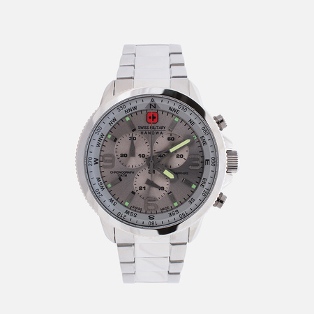 Swiss Military Hanowa Avio Line Arrow Chrono Men's Watch Silver