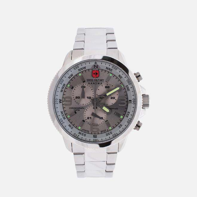 Наручные часы Swiss Military Hanowa Avio Line Arrow Chrono Silver