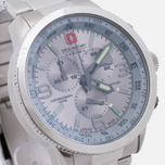 Мужские наручные часы Swiss Military Hanowa Avio Line Arrow Chrono Silver фото- 2