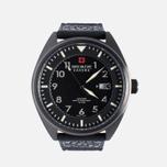Мужские наручные часы Swiss Military Hanowa Avio Line Black/Silver фото- 0