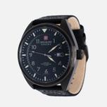 Мужские наручные часы Swiss Military Hanowa Avio Line Black/Silver фото- 1
