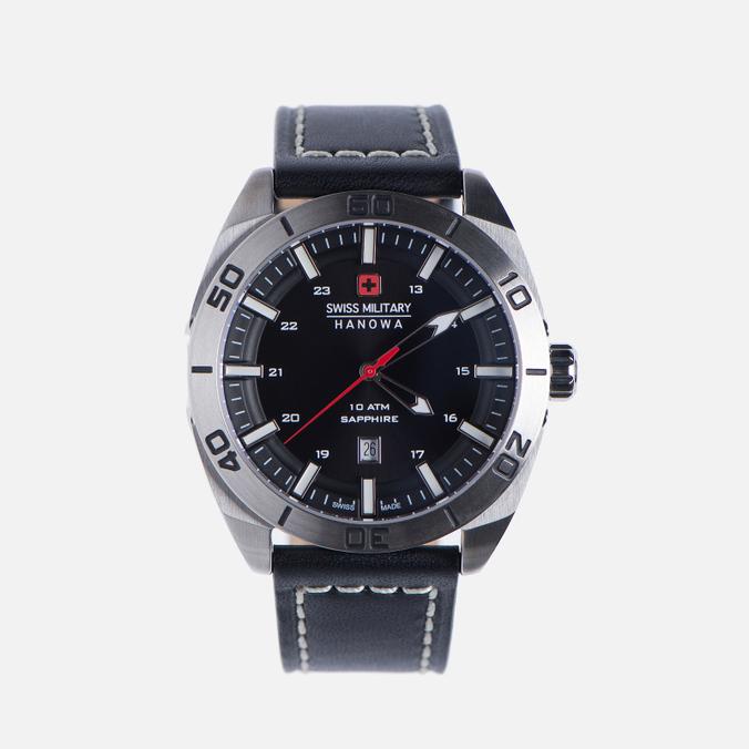 Мужские наручные часы Swiss Military Hanowa Champ Silver/Black