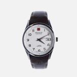 Мужские наручные часы Swiss Military Hanowa Navalus Silver/Brown фото- 0