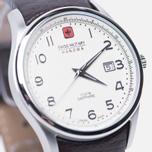 Мужские наручные часы Swiss Military Hanowa Navalus Silver/Brown фото- 2