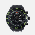 Мужские наручные часы Swiss Military Hanowa Navy Line Immersion Chrono Black/Voltage Green фото- 0