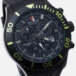 Мужские наручные часы Swiss Military Hanowa Navy Line Immersion Chrono Black/Voltage Green фото- 2