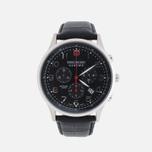Мужские наручные часы Swiss Military Hanowa Patriot Black фото- 0