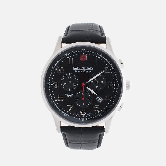 Мужские наручные часы Swiss Military Hanowa Patriot Black