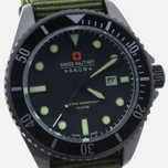 Мужские наручные часы Swiss Military Hanowa Sea Lion Black/Green фото- 2