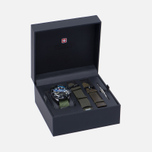 Мужские наручные часы Swiss Military Hanowa Sea Lion Set Black/Green фото- 5