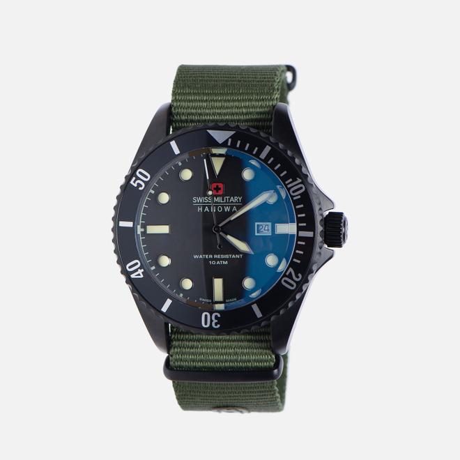 Наручные часы Swiss Military Hanowa Sea Lion Set Black/Green