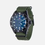 Мужские наручные часы Swiss Military Hanowa Sea Lion Set Black/Green фото- 1