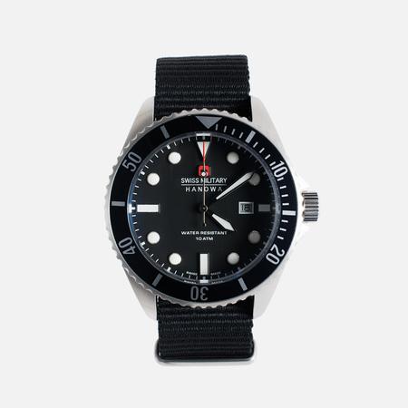 Мужские наручные часы Swiss Military Hanowa Sea Lion Silver/Black