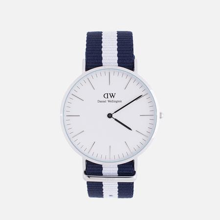 Daniel Wellington Наручные часы Classic Glasgow Silver
