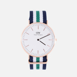 Наручные часы Daniel Wellington Classic Nottingham Rose Gold фото- 0