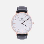 Наручные часы Daniel Wellington Classic Sheffield Rose Gold фото- 0