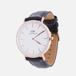 Наручные часы Daniel Wellington Classic Sheffield Rose Gold фото- 1