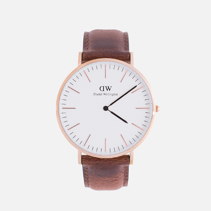 Daniel Wellington Classic St Mawes Men's Watch Rose Gold