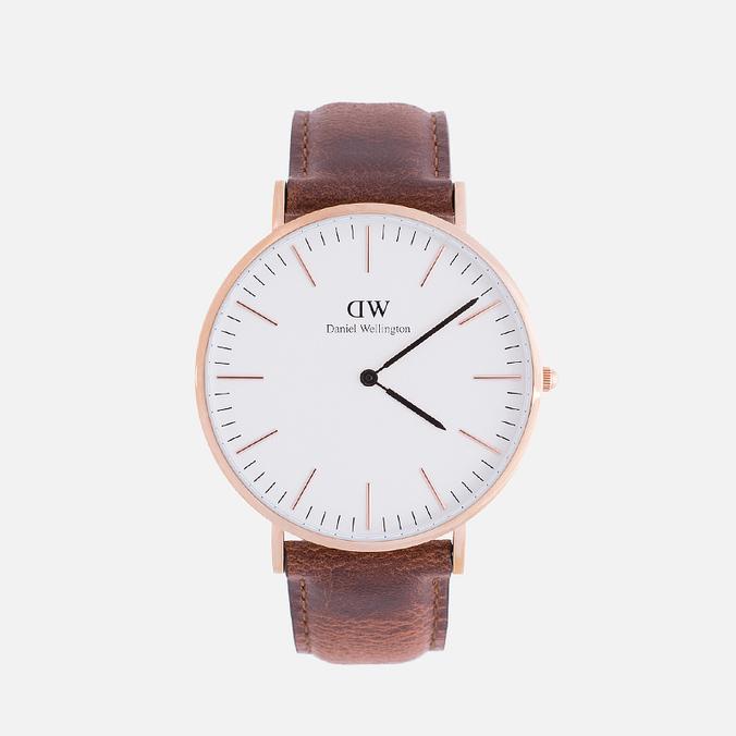 Мужские наручные часы Daniel Wellington Classic St Mawes Rose Gold