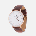 Daniel Wellington Classic St Mawes Men's Watch Rose Gold photo- 1