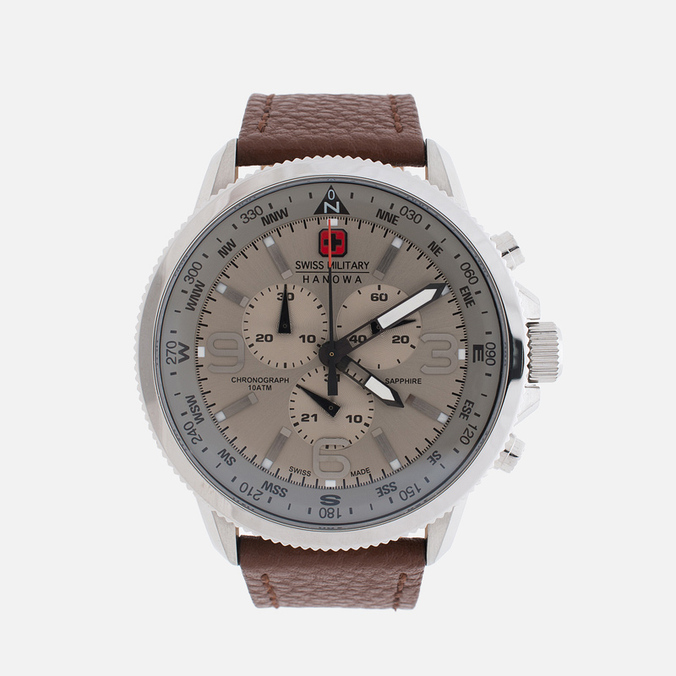 Мужские наручные часы Swiss Military Hanowa Arrow Silver/Beige