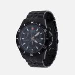 Мужские наручные часы Swiss Military Hanowa Flagship Chrono Black фото- 1