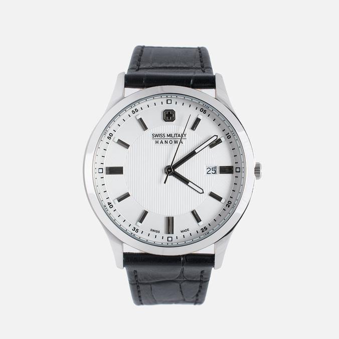 Мужские наручные часы Swiss Military Hanowa Lieutenant Silver/White